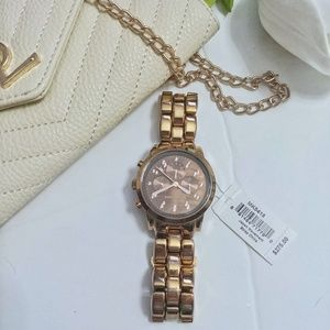 Michael Kors Rose Gold Showstopper Watch MK5415